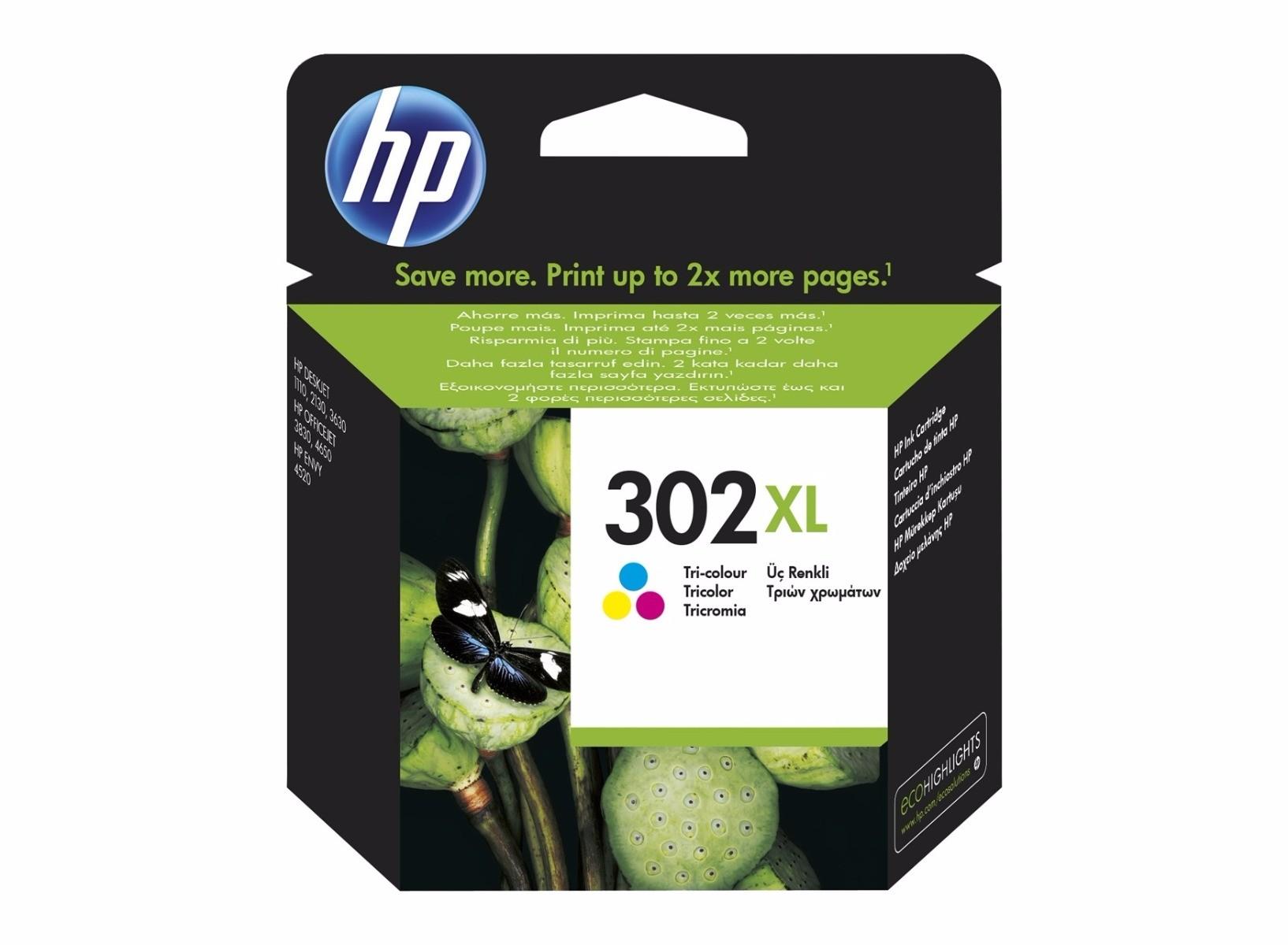 HP 302 XL kleuren (origineel)