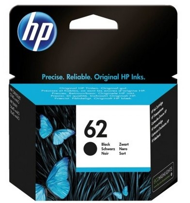 HP 62 zwart (origineel)