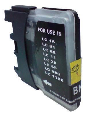 Huismerk Brother LC-980/LC-1100 zwart