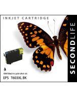 SecondLife - Epson 603 XL Black