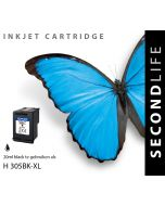 SecondLife - HP 305 XL Black