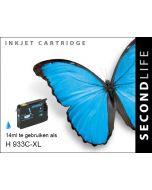 SecondLife - HP 933 XL Cyan