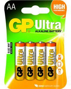 GP Ultra Alkaline AA Mignon penlite, blister 4
