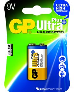 GP Ultra Plus Alkaline 9v E-blok