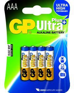 GP Ultra Plus Alkaline AAA Micro penlite, blister 4
