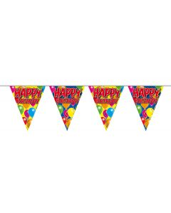 Happy Birthday Slinger Balloons - 10 meter