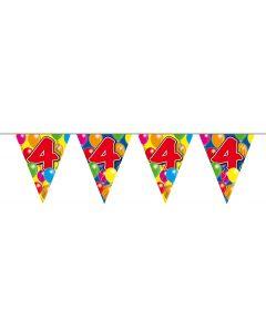 4 Jaar Slinger Balloons - 10 meter