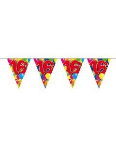 16 Jaar Slinger Balloons - 10 meter