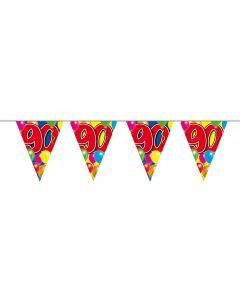90 Jaar Slinger Balloons - 10 meter