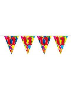 11 Jaar Slinger Balloons - 10 meter