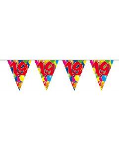 19 Jaar Slinger Balloons - 10 meter