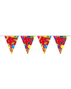 45 Jaar Slinger Balloons - 10 meter