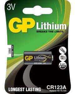 GP Photo Lithium CR123A (DL 123A), blister 1