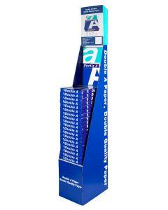 Double A display - inclusief 20 pakken A4 80gr papier à 500 vel