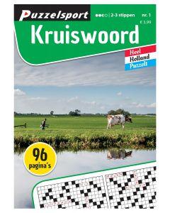Puzzelsport Puzzelboek 96 pag. Kruiswoord 2-3*