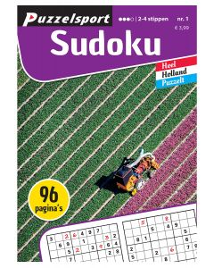 Puzzelsport Puzzelboek 96 pag. Sudoku 2-4*