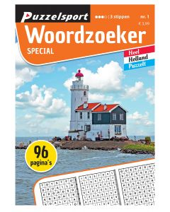 Puzzelsport Puzzelboek 96 pag. Woordzoeker Special 3*