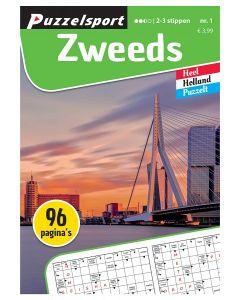Puzzelsport Puzzelboek 96 pag. Zweeds 2-3*