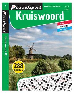 Puzzelsport Puzzelboek 288 pag. Kruiswoord 2-3*