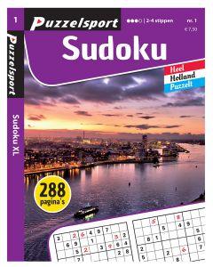 Puzzelsport Puzzelboek 288 pag. Sudoku 2-4*