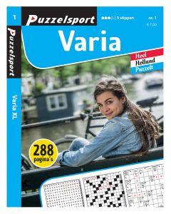 Puzzelsport Puzzelboek 288 pag. Varia 3*