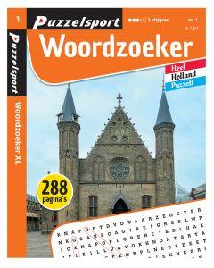 Puzzelsport Puzzelboek 288 pag. Woordzoeker 3*