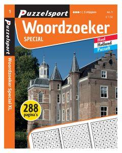Puzzelsport Puzzelboek 288 pag. Woordzoeker Special 3*
