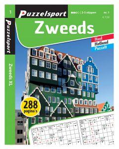 Puzzelsport Puzzelboek 288 pag. Zweeds 2-3*