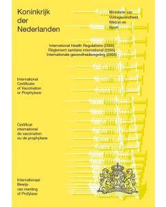 Nederlands Vaccinatieboek - set van 10 exemplaren