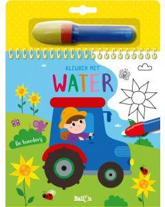 De boerderij - Kleuren met water