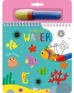 Onder water - Kleuren met water