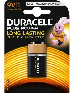 Duracell Ultra Power Duralock Alkaline 9v, blister 1