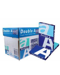 Double A premium A4 Papier 80gram (1 doos à 10 pak/250 vel)