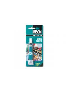 Bison Model Plastic 25ml tube kleurloos op blisterkaart