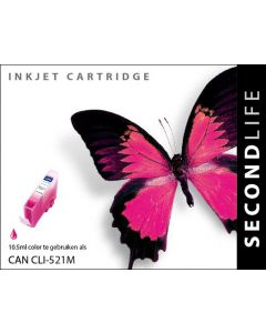 SecondLife - Canon CLI 521 Magenta