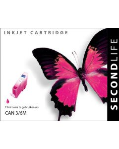 SecondLife - Canon BCI 3/6 Magenta XL