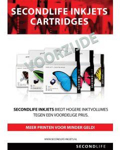 SecondLife A5 Cartridge Promo Flyer