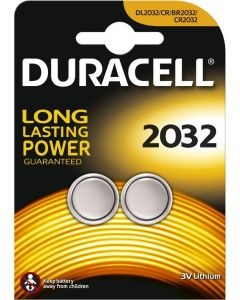 Duracell Lithium knoopcel CR2032, blister 2