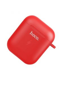 Hoco Wireless Charging Case for AirPods 1 & 2 - Red