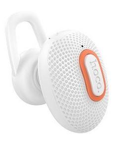 Hoco Hidden Single Ear Bluetooth Headset White
