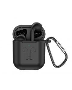 Hoco ES32 Plus Black AirPods + Wireless Charging Case + Black Sleeve