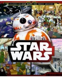 Zoek en vindboek, A Journey to Star Wars - 4 jaar en ouder