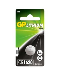 GP Lithium knoopcel CR1620, blister 1
