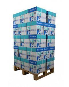 Double A premium A4 Papier 80gram (Pallet 400 pak/250vel)