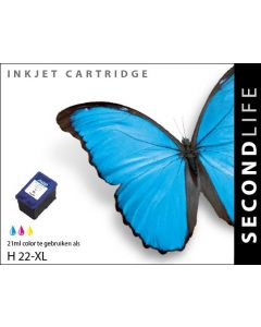 SecondLife - HP 22 XL Color