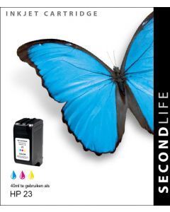 SecondLife - HP 23 XL Color