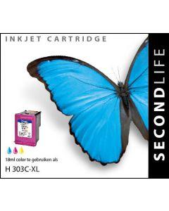 SecondLife - HP 303 XL Color