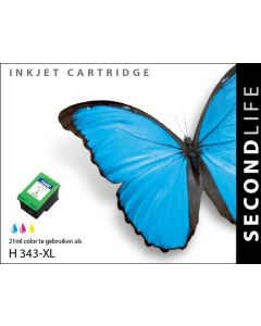SecondLife - HP 343 XL Color