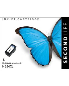 SecondLife - HP 350 XL Black