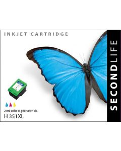 SecondLife - HP 351 XL Color